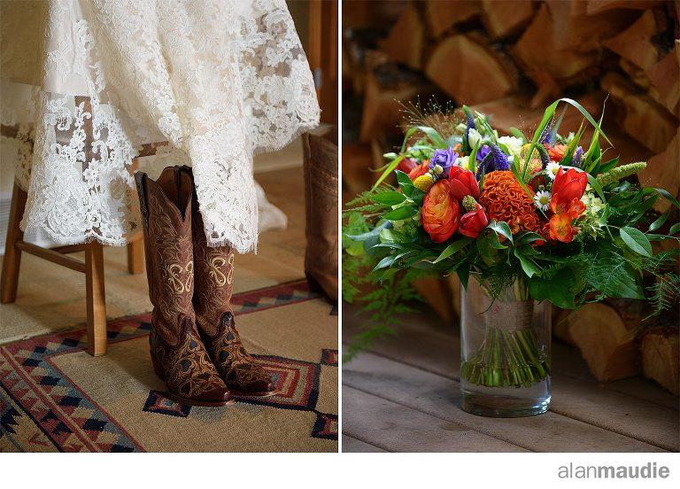 Calgary Rustic Ranch Wedding Photography