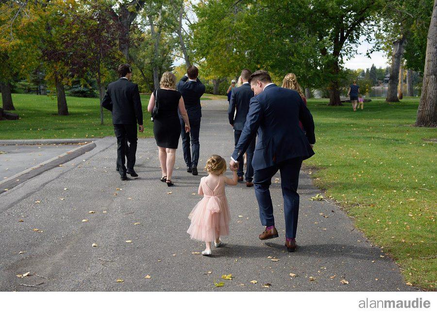 Lake House Calgary Wedding