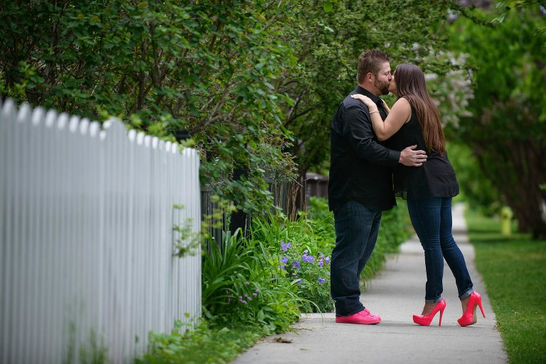 Calgary Engagement Session Nose H
